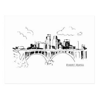 Carte Postale Minneapolis