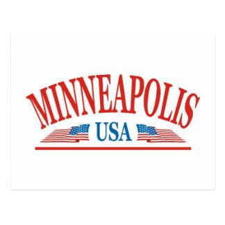 Carte Postale Minneapolis Minnesota Etats-Unis