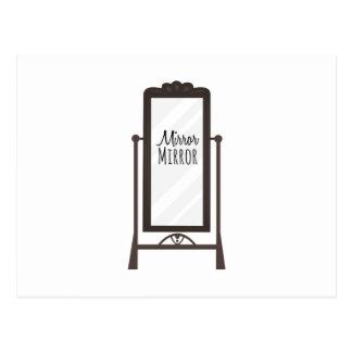 Carte Postale Miroir de miroir