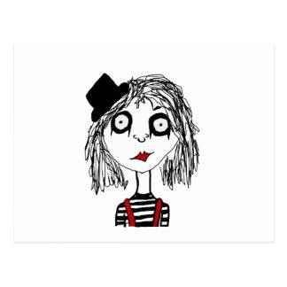 Carte Postale Miss.Marie