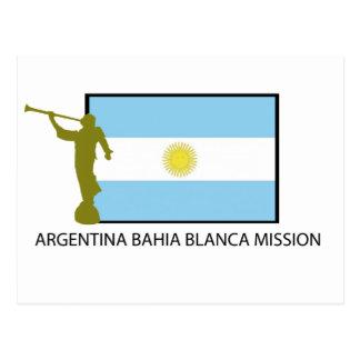 Carte Postale Mission de Blanca de l'Argentine Bahia