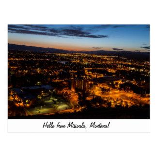 Carte Postale Missoula, Montana