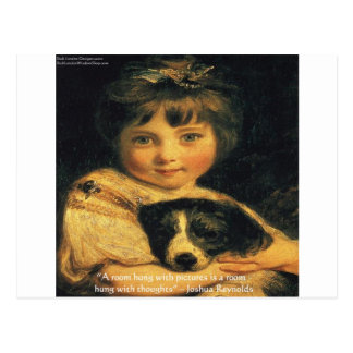 Carte Postale Mlle Bowles de Joshua Reynolds et cadeaux et