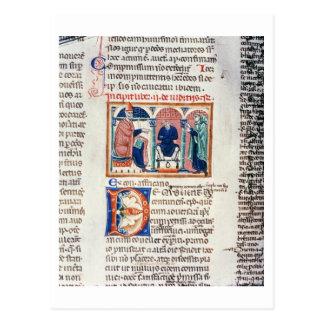 Carte Postale Mme 150 f.61v un jugement, du 'St de Decrets De