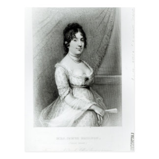 Carte Postale Mme James Madison, Dolley Payne, c.1804-55