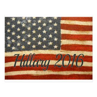Carte Postale Mme le président 2016 de Hillary