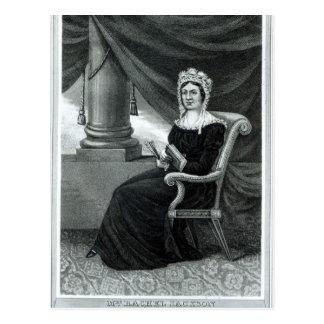 Carte Postale Mme Rachel Jackson