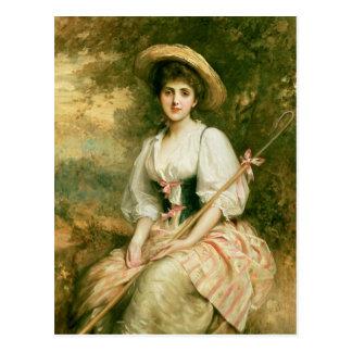 Carte Postale Mme Stuart M. Samuel comme Phyllida