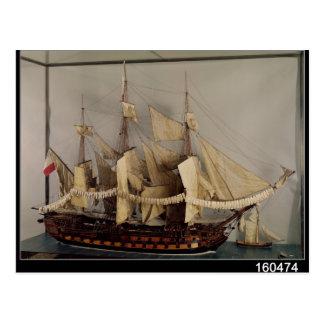 Carte Postale Modèle du bateau 'L'Achille