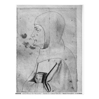 Carte Postale Moine, le de l'album de Vallardi