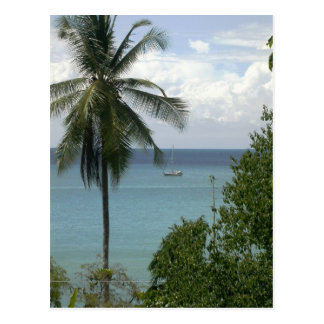 Carte Postale Moira à l'ancre, Bahia Drake, Costa Rica