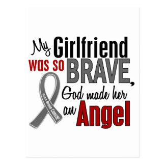 Carte Postale Mon amie est un cancer du cerveau de l'ange 1