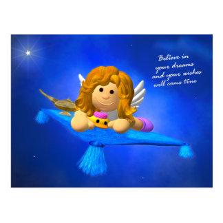 Carte Postale Mon petit ange : Imagination