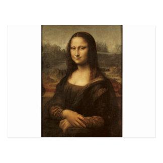 Carte Postale Mona Lisa par Leonardo da Vinci circa 1505-1513