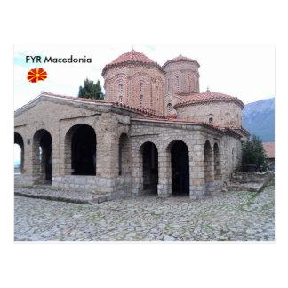 Carte Postale Monastère de St Naum, FYR Macédoine