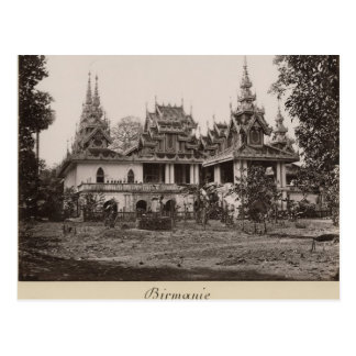 Carte Postale Monastère de Teik Kyaung, île d'orteil de ka