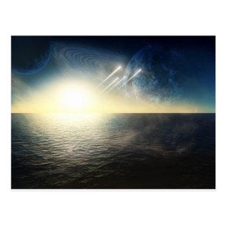 Carte Postale Monde d'océan avec l'escadron
