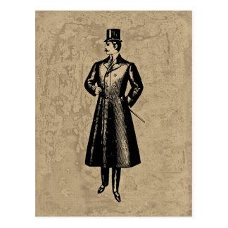 Carte Postale Monsieur élégant