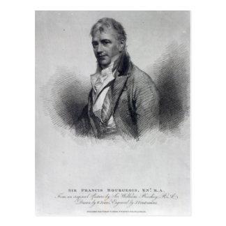 Carte Postale Monsieur Francis Bourgeois, après un dessin par le