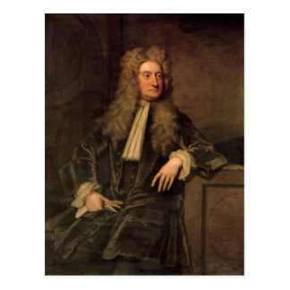 Carte Postale Monsieur Isaac Newton