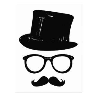 Carte Postale Monsieur Mustache
