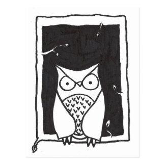 Carte Postale Monsieur Owl