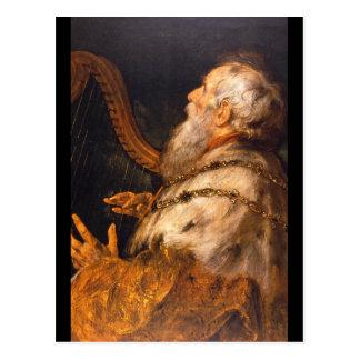 Carte Postale Monsieur Peter Paul_Dutch Masters du roi David',