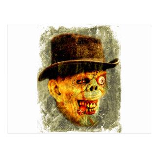 Carte Postale Monsieur pimpant de zombi mort