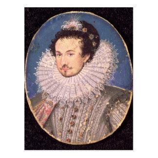 Carte Postale Monsieur Walter Raleigh