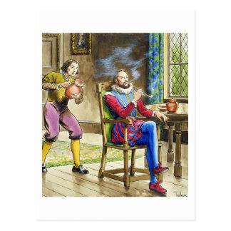 Carte Postale Monsieur Walter Raleigh (1554-1618) des
