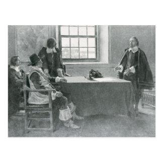 Carte Postale Monsieur William Berkeley Surrendering