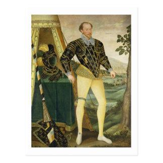 Carte Postale Monsieur William Drury, de Hawstead, le Suffolk
