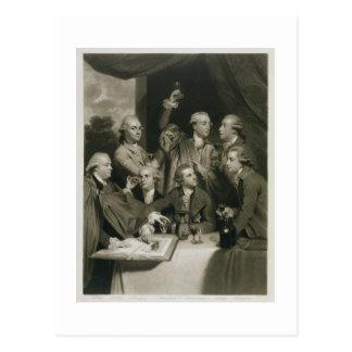Carte Postale Monsieur William Hamilton (1730-1803) avec l'autre