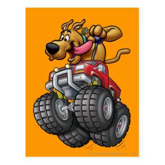 Carte Postale Monstre Truck1 de Scooby Doo