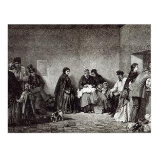 """Carte Postale Mont de Piete, de """"heure de loisirs"""", 1891"""