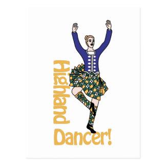 Carte Postale Montagne Dancer1