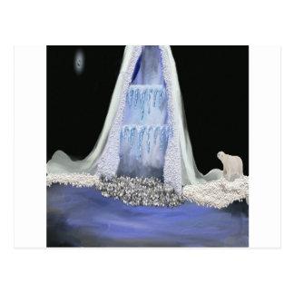 Carte Postale montagne de glace