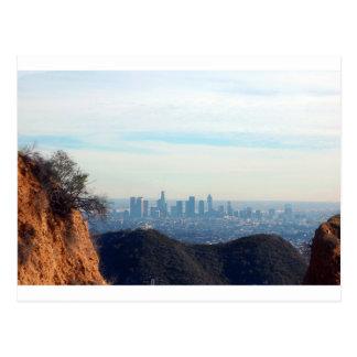 Carte Postale Montagne encadrée par LA