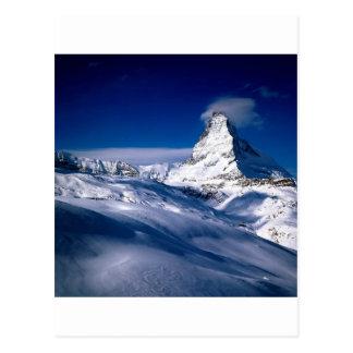 Carte Postale Montagne Matterhorn Valais Suisse