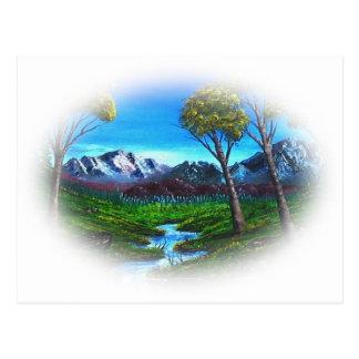 Carte Postale Montagne rocheuse