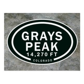 Carte Postale Montagne rocheuse de pi le Colorado de la crête