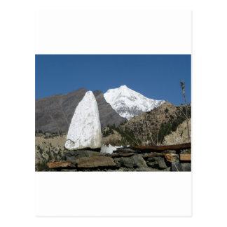 Carte Postale Montagnes au Népal