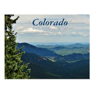 Carte Postale Montagnes du Colorado