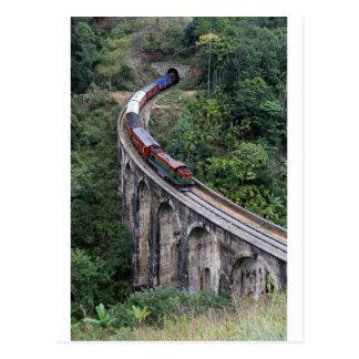 Carte Postale Montagnes du Sri Lanka de pont de croisement de