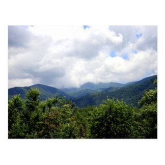 Carte Postale Montagnes fumeuses