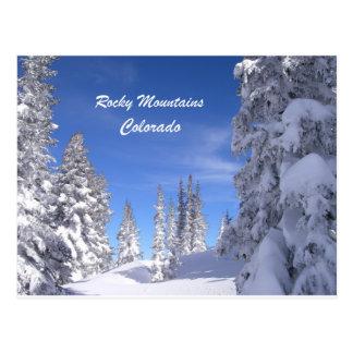Carte Postale Montagnes rocheuses de Milou le Colorado