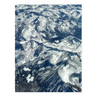 Carte Postale Montagnes rocheuses de sur haute