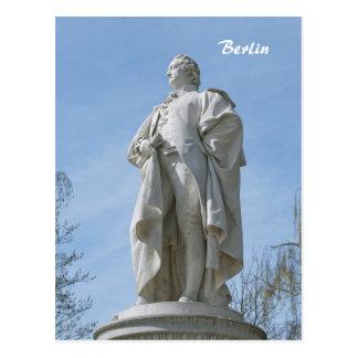 Carte Postale Monument de Johann Wolfgang von Goethe à Berlin