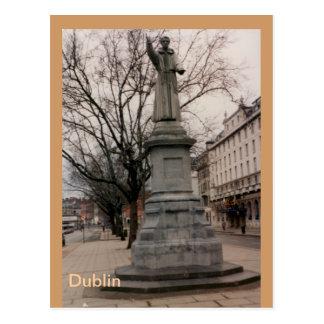 Carte Postale Monument de Theobold Mathew de cadre, Dublin,