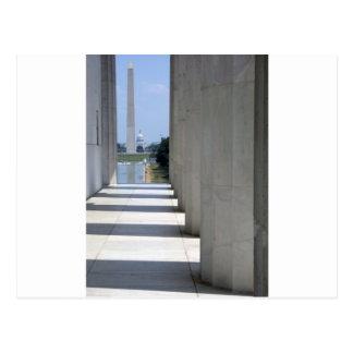 Carte Postale monument du Lincoln Memorial Washington